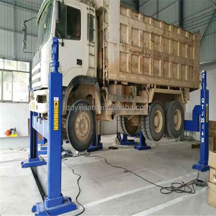 Truck Workshop Lifting Gebruikt Elektrische 4 Kolom Lifts