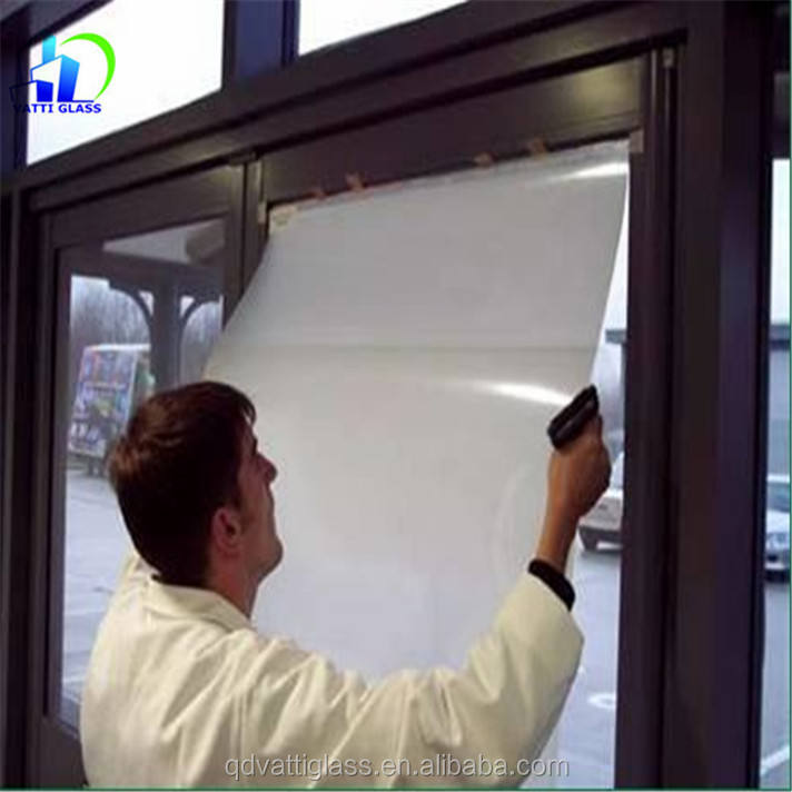 Electronic tinting switchable smart glass film
