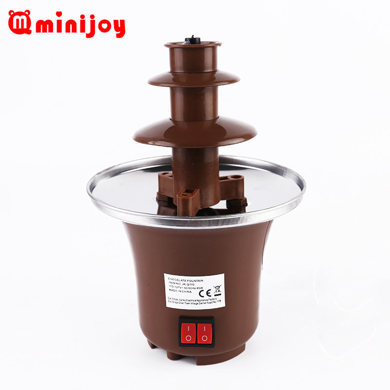 Desain Baru Mini Hot Chocolate Melting Pot Fondue Fountain