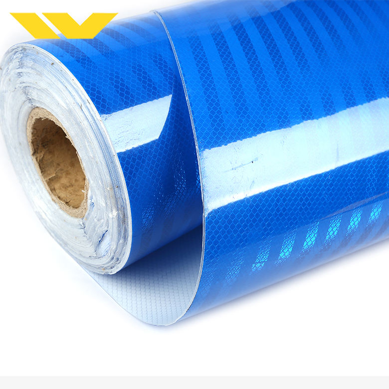 Blue colored retro material EGP engineering garde china reflective sheeting for printing
