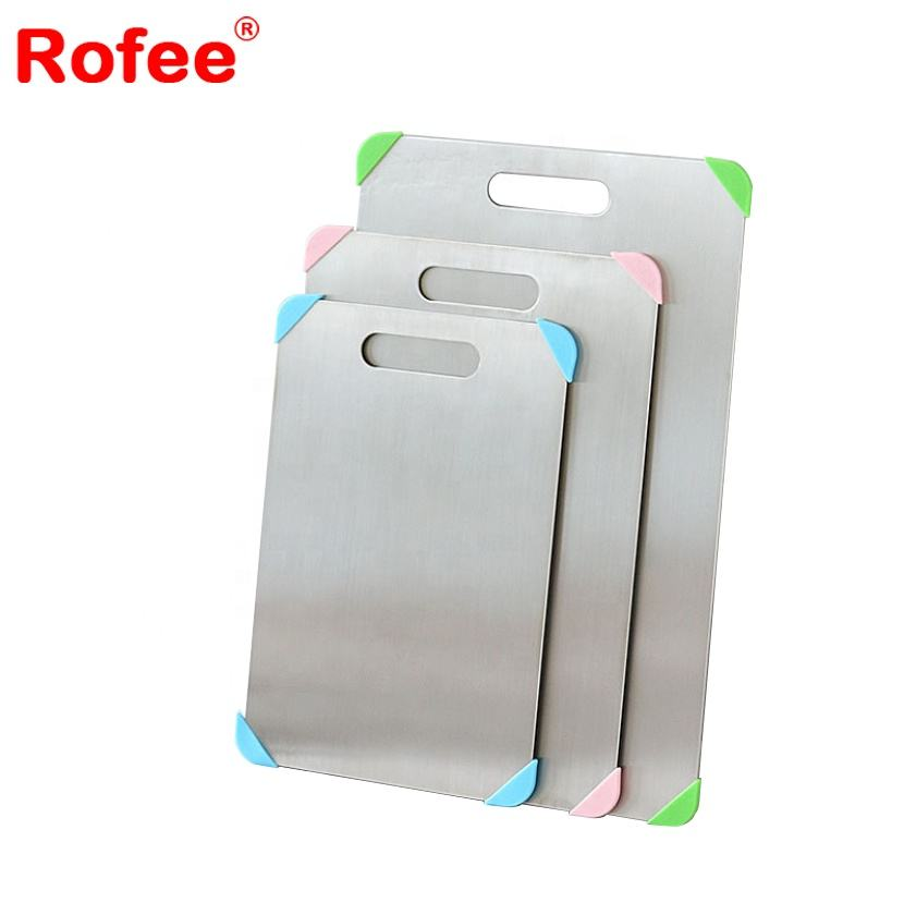 Eco-friendly cutting board stainless steel chopping board