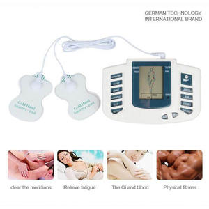 Therapie Massager Digital LCD Meridiaan Therapie Machine Acupunctuur Pulse Muscle Massager