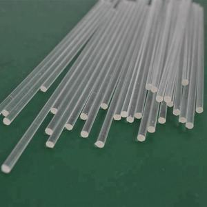 High Clear Acrylic Stick OD3x1000 Plastic Small Round Rods PMMA Business Home Cake Decor Can cut into any length