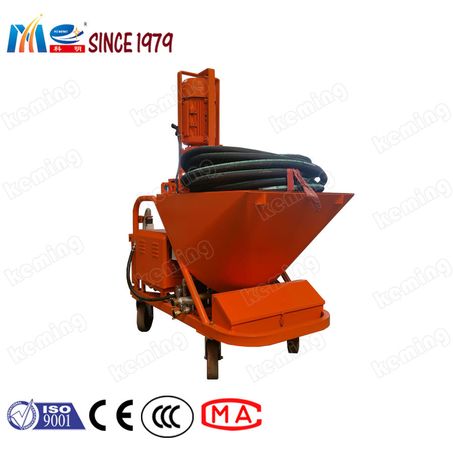 Dry Mix Cement Mortar Plastering Machine Small Plastering Machine Mortar