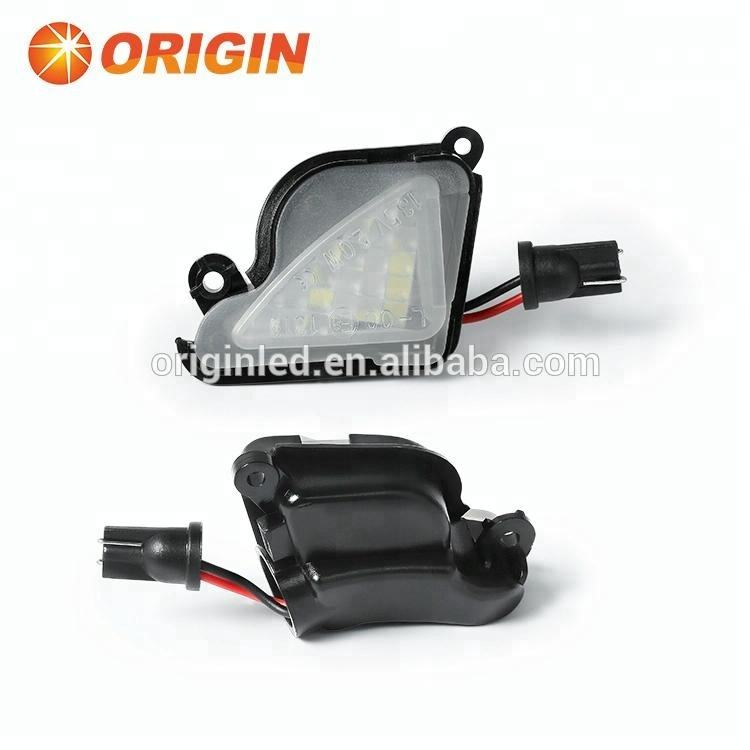 2018 new arrival hot sale car LED front under mirror light for Skoda Superb II