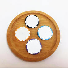 Wholesale Blank custom clay poker chips