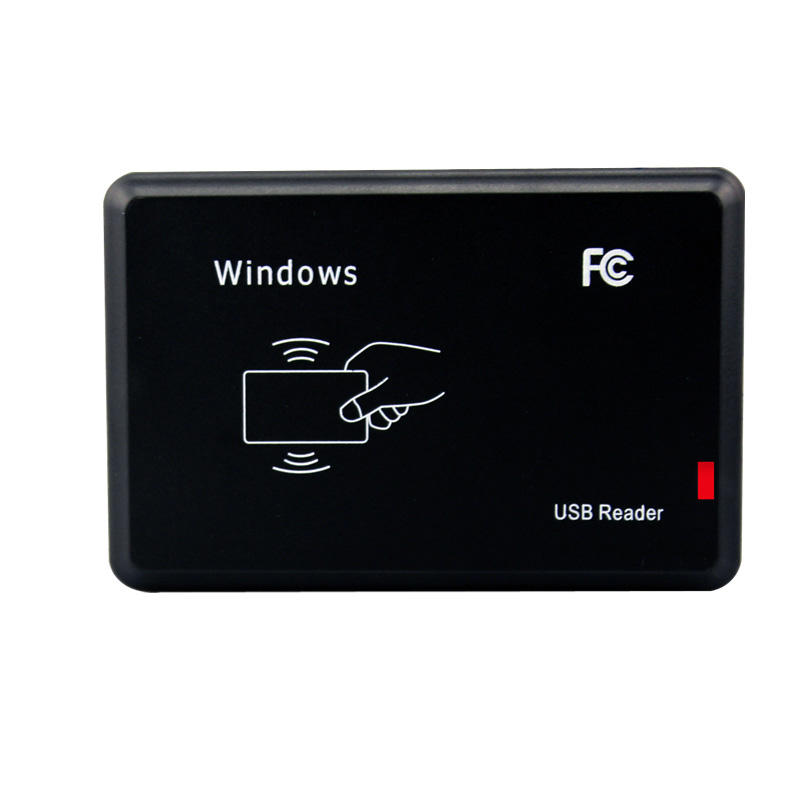 SYC R21C Hot Sale 13.56Mhz RFID Reader Magnetic Stripe RFID Card Reader NFC Reader with LED Indicators Support Window XP, Win 7