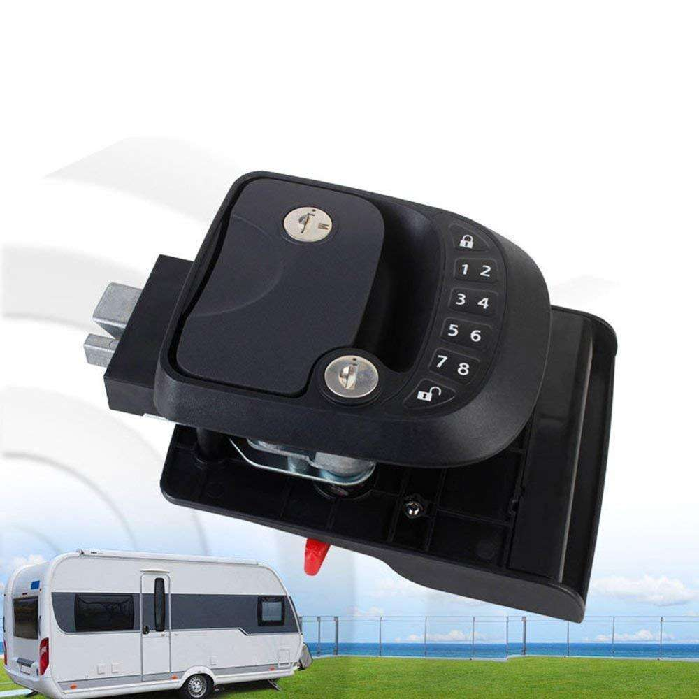 Mobil RV Tanpa Kunci Masuk Door Lock Latch Handle Knob Deadbolt Caravan Trailer Kunci