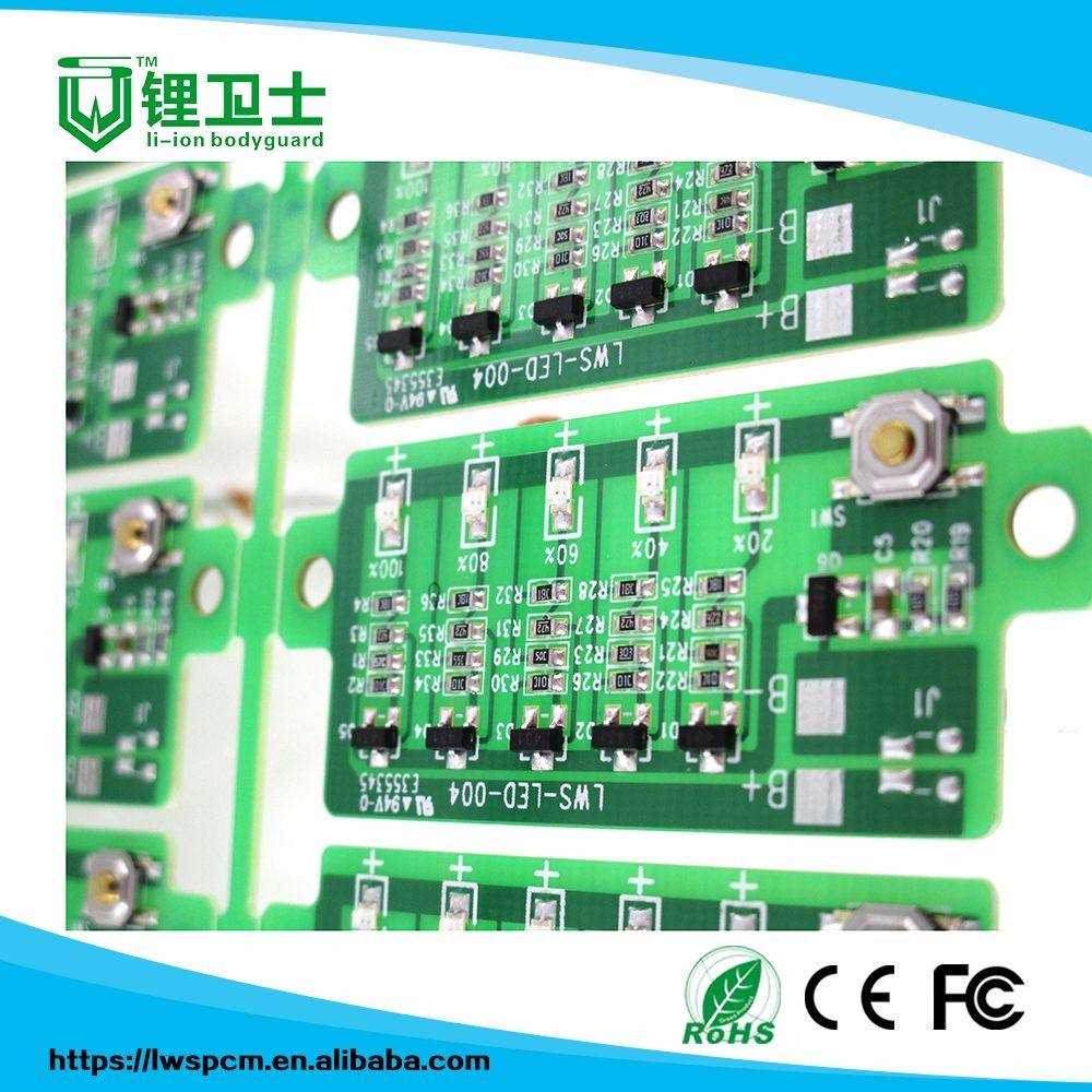 Production professionnelle d'assurance qualité LED bande pcb 94v0