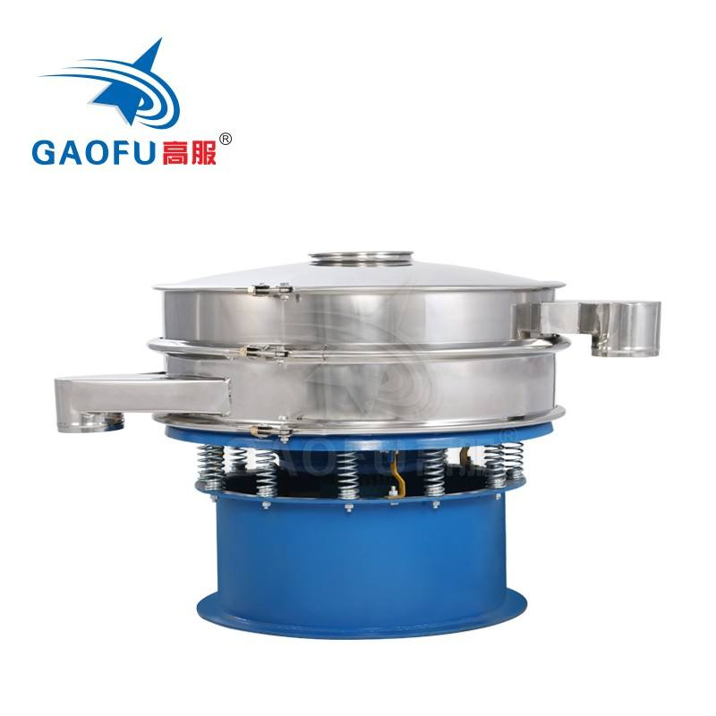 Particle sieve shaker powder coating vibratory sieving separator machine