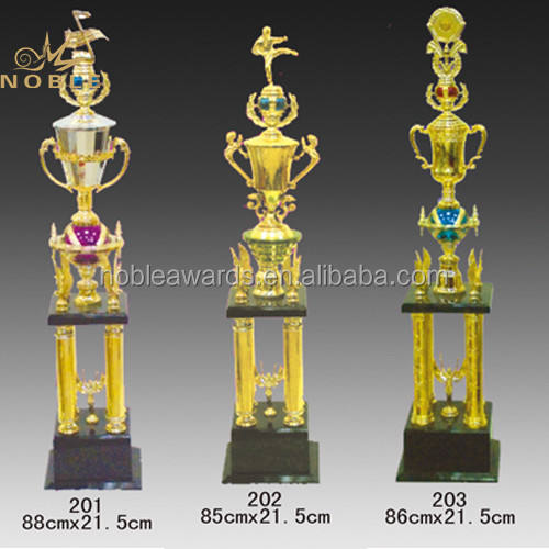 Large Size Cheap Custom Metal Trophy Sports Cup