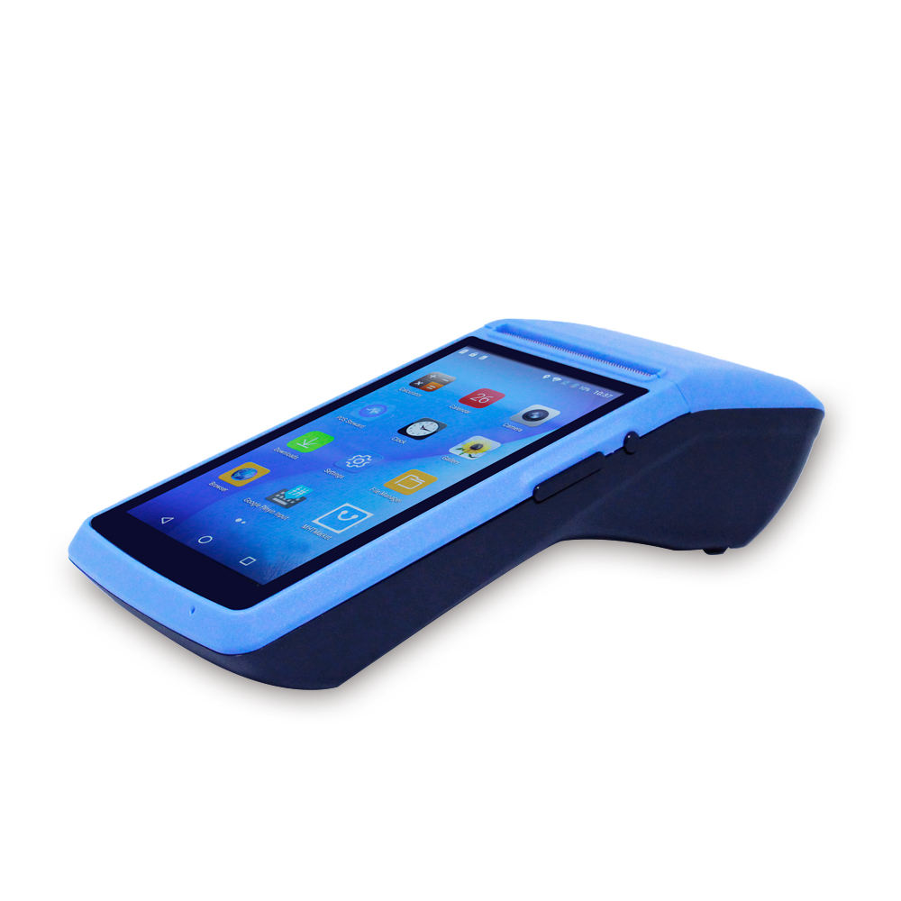 MHT-M1 Android 5inch touch display handheld pos payment terminal built-in thermal printer