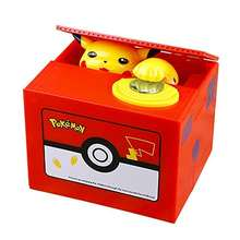New Pokemon-Go inspired Electronic Coin Money Piggy Bank box Limited Edition (Pickachu Coin Bank)