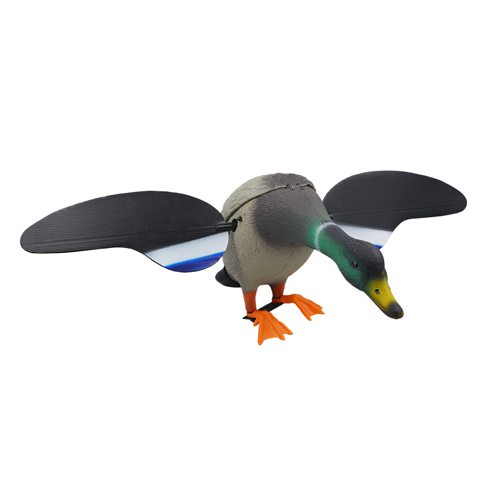 Remote Motorized full body flying hunting duck decoys