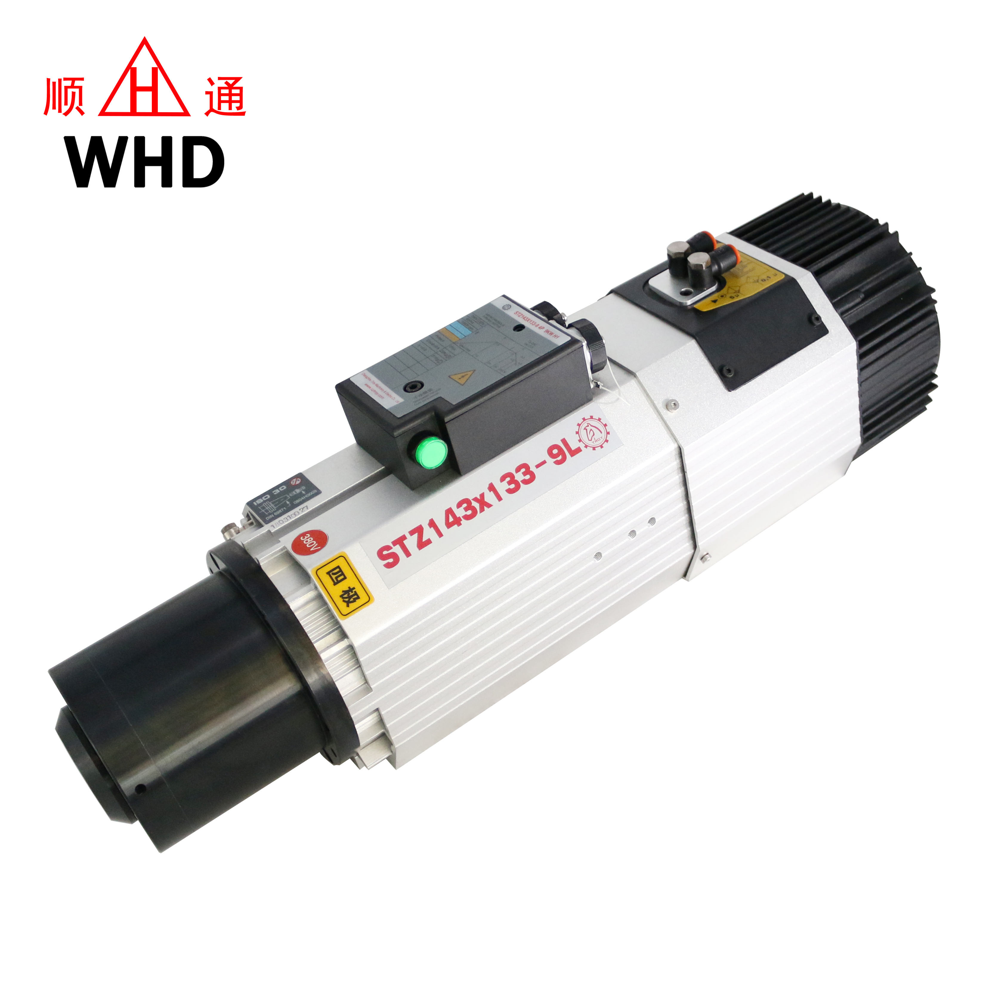 High Speed Automatic Tool Change ATC 9KW ISO30 Air Cooled CNC Spindle Motor