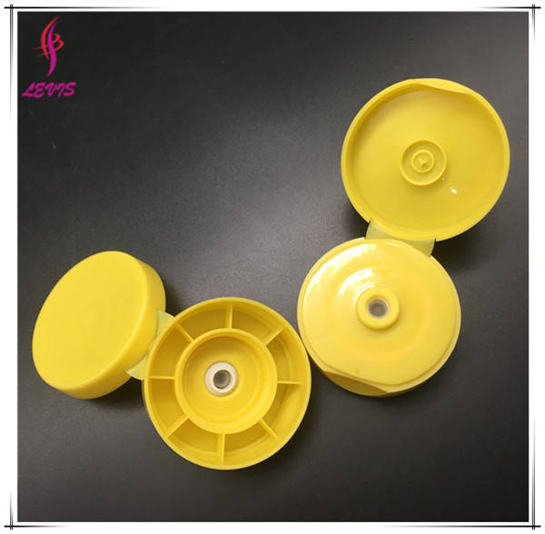 33/400 PP Flip Top Sauce Bottle Cap With Silicon Valve