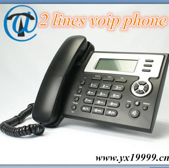 マルチラインでip電話のvoip