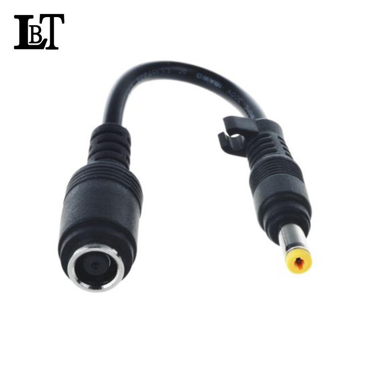 DC 7.4x5.0mm to 4.8x1.7mm Bullet tip connect COMPAQ HP adapter cable
