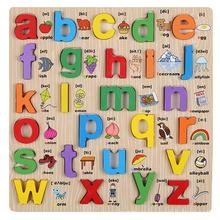 Kids Early Educational Montessori Alphabet Cognition Custom Photo Desktop Jigsaw Puzzles Abc Wholesale
