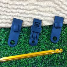 Wholesale high quality plastic tent clip with grommet screw for tent tarp outdoor use