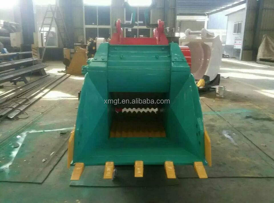 crusher bucket crusher for excavator and bulldozer GT120 excavator crusher bucket