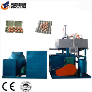 Fruit paper pulp carton packing making machine egg tray machine for algeria