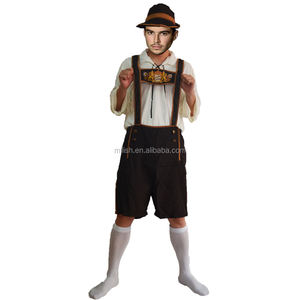Party carnival german man Bavarian lederhosen oktoberfest costume MAB-102