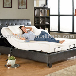 Home furniture with Bed Skirt Slat adjustable bed