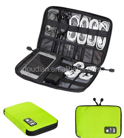 Electronic Accessories Organizers Bag for Earphone Cables USB Travel Cable Organizer Bag