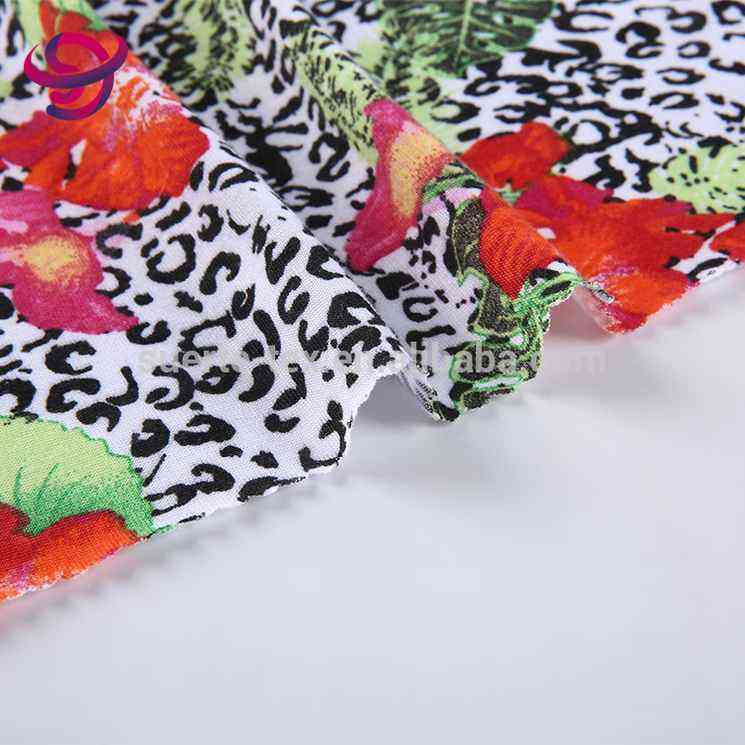 Best selling new design knitted vintage floral african print polyester fabric floral