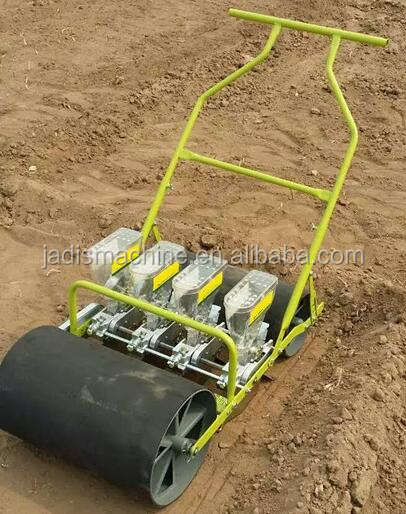 New arrival good reputation manual seed drill 4 row onion/ carrot manual seeder for sale