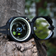 W2234G Pocket Compass Multi-function ABS Compass Outdoor Professional Geological Compass