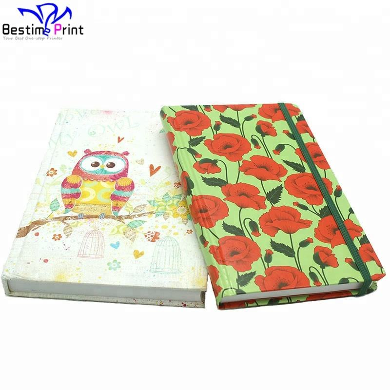 Elegant Appearance Hardcover Travel Journal Book Printing