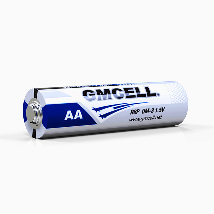 1.5V Dry Cell R6P UM3 No.5 Zinc Carbon AA Size Dry Battery
