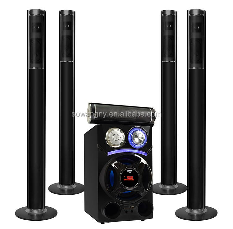 2019 JERRYPOWER Nice Design Stereo Speakers Home Theater 5.1