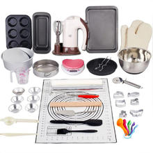 2021 Complete Cake Baking Set Bakery Tools for Beginner Adults Baking sheets bakeware sets baking tools