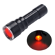 3W Waterproof Mini Handheld Red Light Torch Signal Flashlights
