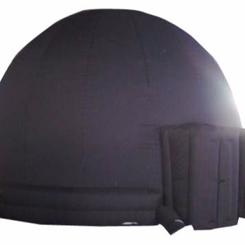Black Portable Planetarium Inflatable Dome Education Inflatable Astronamy Dome for sale