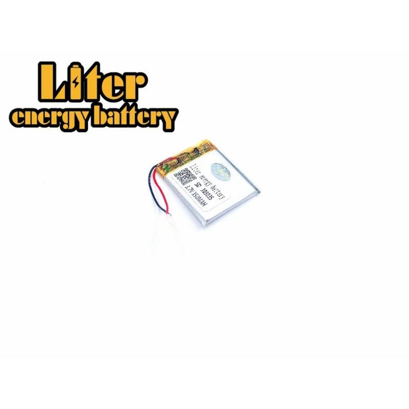 Mp3 Mp4 Player Replacement Battery For 3.7v 350mah 3.0*30*35mm 303035 283035 Rechargeable Li Polymer Battery 303035