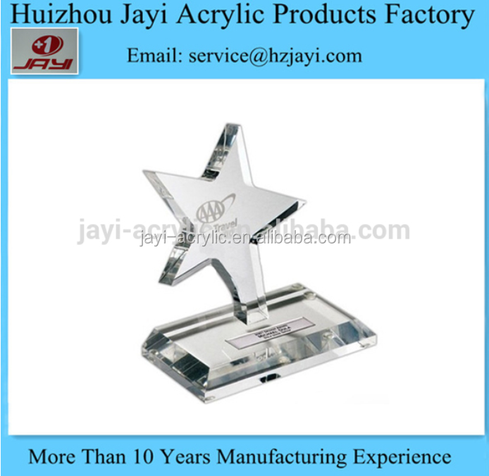 JYTA-005 Factory wholesale acrylic cheap award medals/medals and trophies
