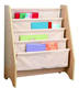 Kids book organizer,portable wooden children bookcase bookshelf