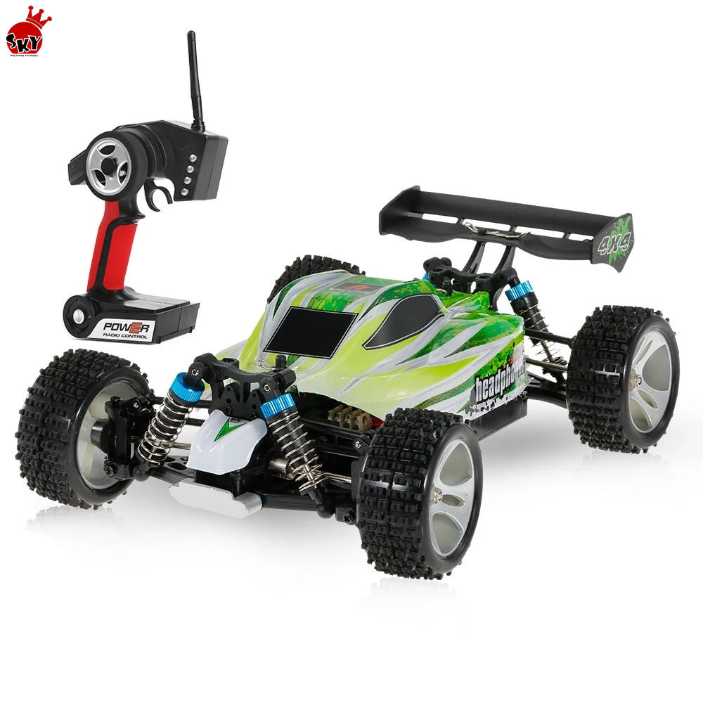 A959-B A959-A 2.4G 1/18 RC Car 4WD 35km 70KM/h High Speed Electric Car RTR Off-road Buggy toy car remote control rc