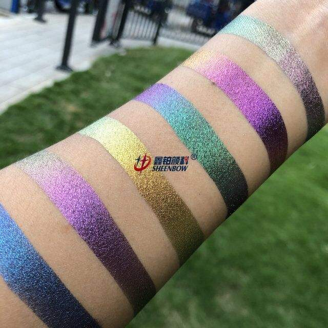 Sheenbow Eyeshadow Pigments chameleon Loose Powder