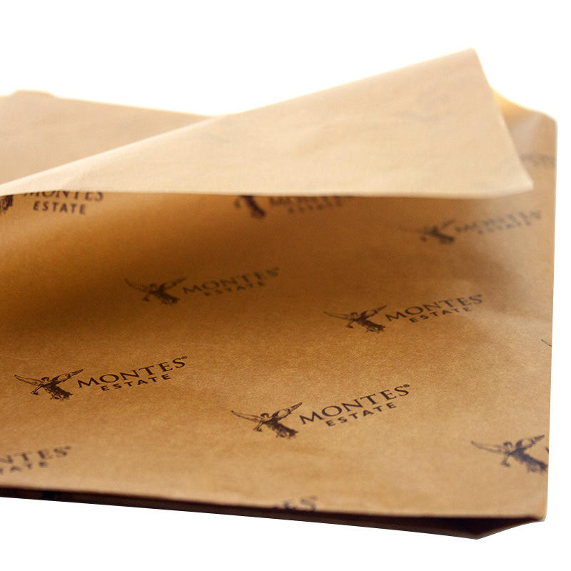 Manufacturer custom 17g kraft tissue paper copy paper wrapping paper