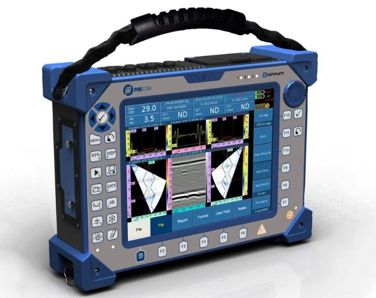 Phascan 16/64 TOFD inspection--Ultrasonic phased array flaw detector welding detection instrument