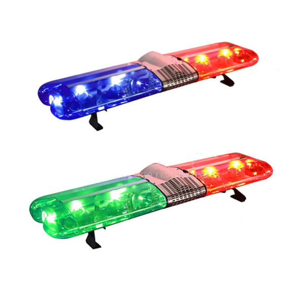 Cheapest Wholesale 180W Safety lightbar 12V 47 inch red blue police halogen warning light bar