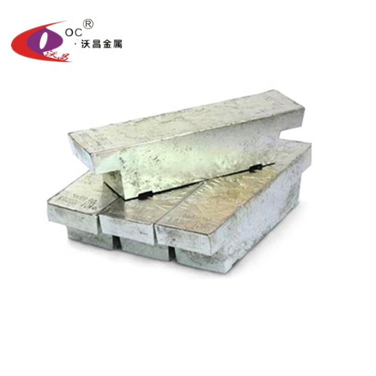 Factory Supply Pure Tin Ingot 4N Sn99.95 For Sale