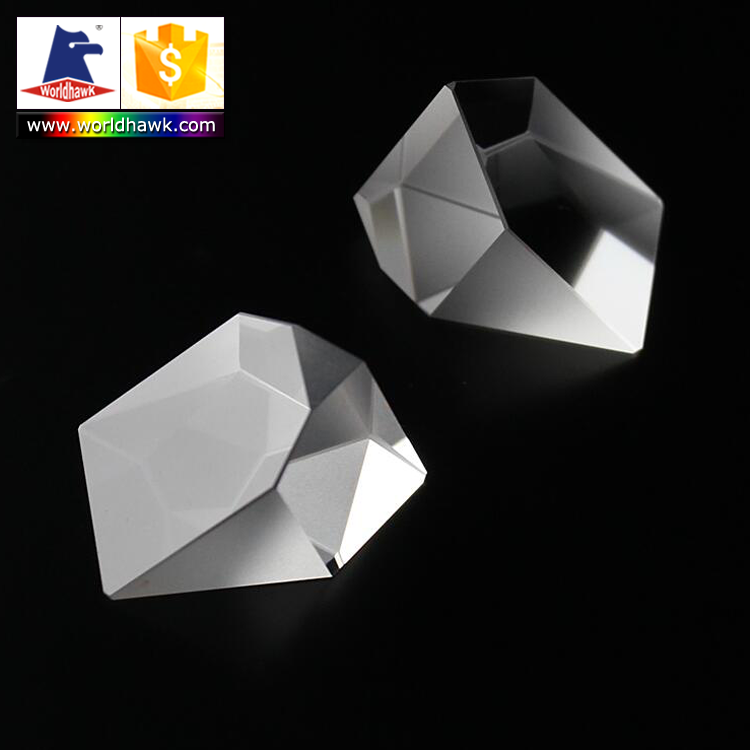 Optical glass Roof prisms Right angle prisms for Binoculars Microscopes and Telescope Eyepieces