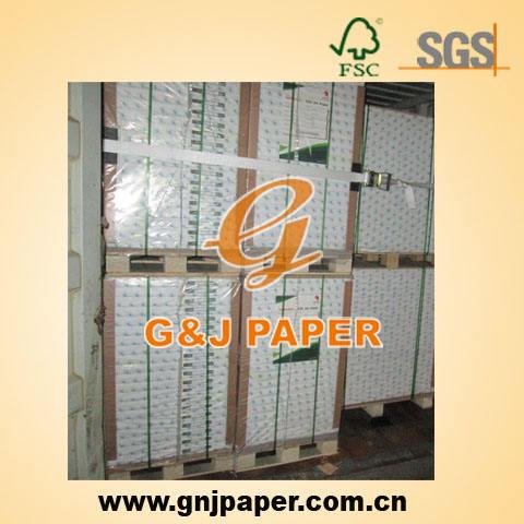 64-80gsm lwc papel peso leve papelrevestido