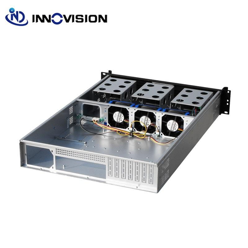 Hot koop 2u ATX rack mount server case L = 650mm